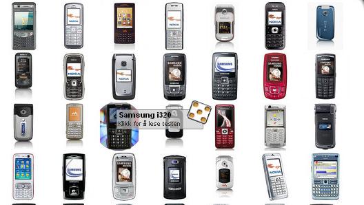 FULL OVERSIKT: Hold deg oppdatert på mobilfronten med ITavisens mobilvelger.