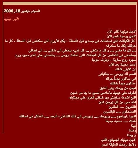 FARLIGE ORD: Siste posting fra «Ayyoub» kom lørdag 18. november. Bloggen er hostet på blogspot og er fortsatt tilgjengelig.