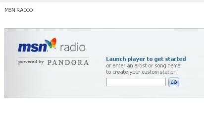 SURFER PÅ BØLGEN: MSN inngår samarbeid med nettradiotjenesten Pandora.