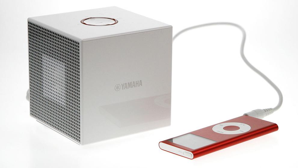 MYE LYD I LITEN ESKE: Vi tester Yamahas minhøyttaler NX-A01