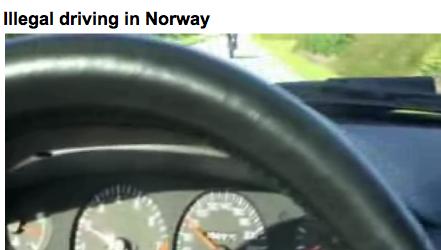 RÅKJØRING: Mange legger ut videoer der de skryter av ulovlig høy fart på norske veier.