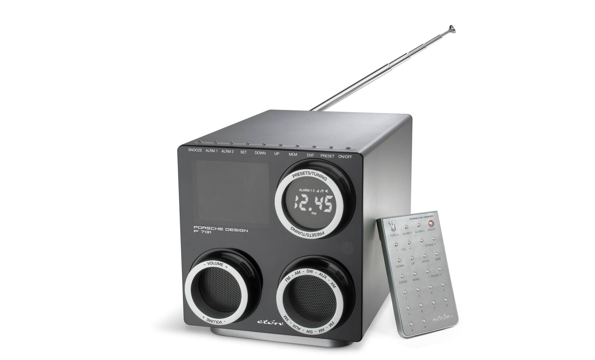 DÅRLIG LYD? Om lyden er for dårlig er i alle fall Porsche Designs DAB-radio lett å se på.