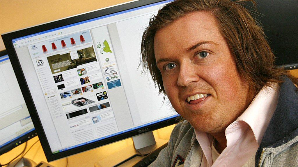 VINNEREN: Jørgen Winsnes vant ITavisens designkonkurranse.