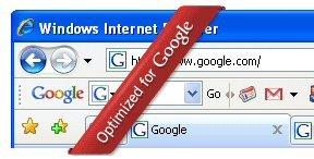 SKREDDERSYDD: IE 7 nå også i Google-versjon.