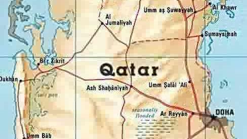 HELT LAND BLOKKERT: Qatar fikk ikke lov å redigere Wikipedia.