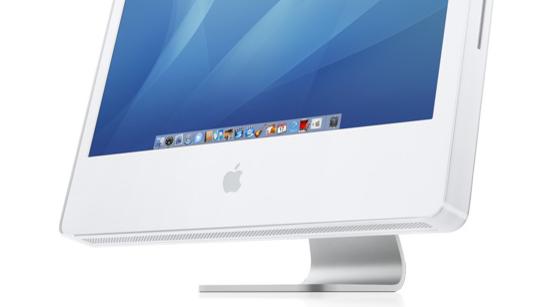 iMac:  Apple selger stadig flere maskiner i Norge, som denne iMac'en. (apple.no)