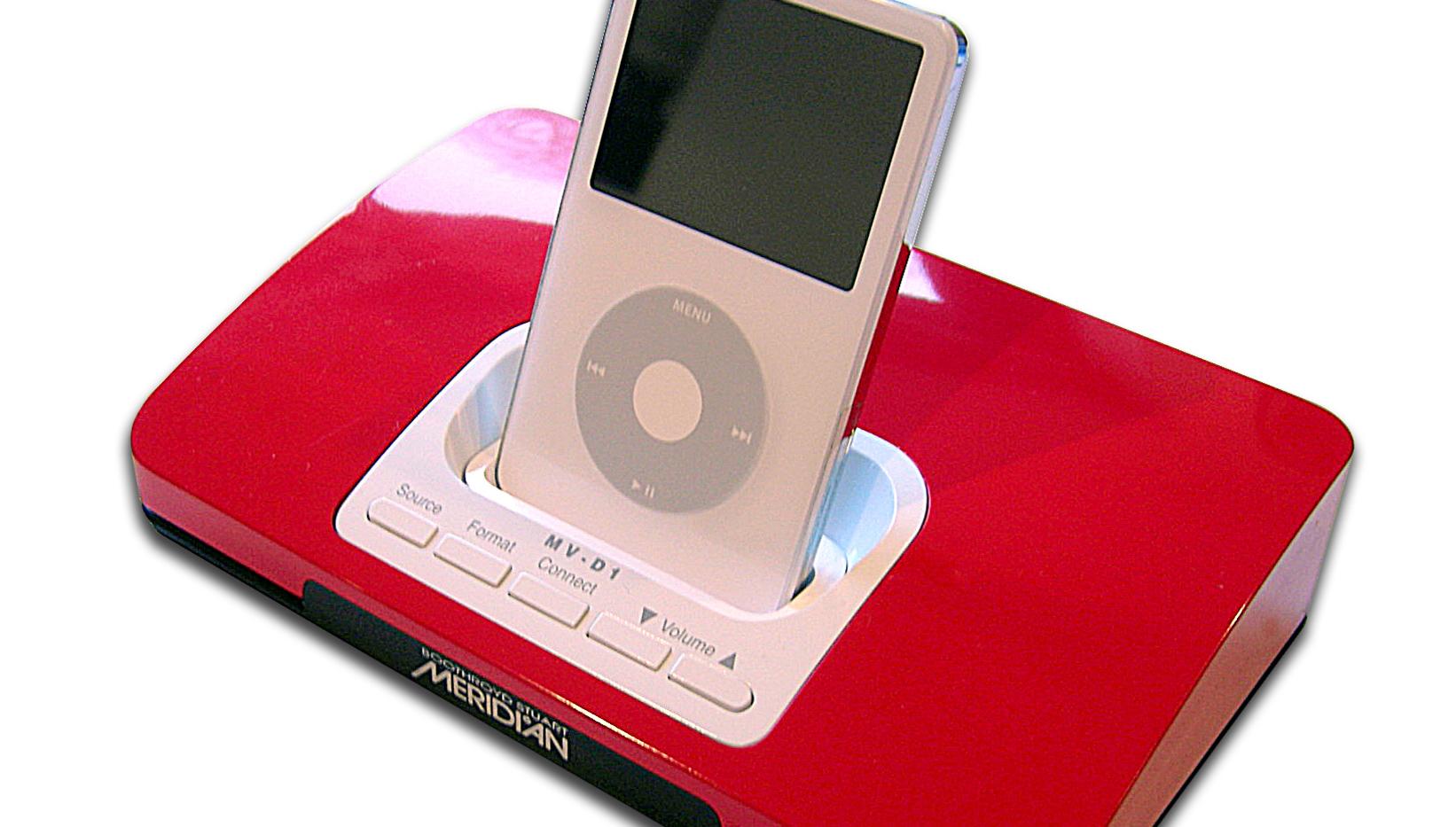 iPod FOR RIKINGER: Meridian mener de kan gjøre superkomprimert video spiselig for hjemmekino-entusiaster.