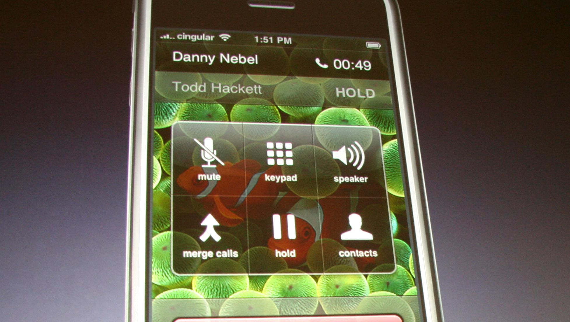 Lukket: Apple vil forsøke å kontrollere hva slags programvare som blir tilgjengelig for sin OS X-drevne mobiltelefon.