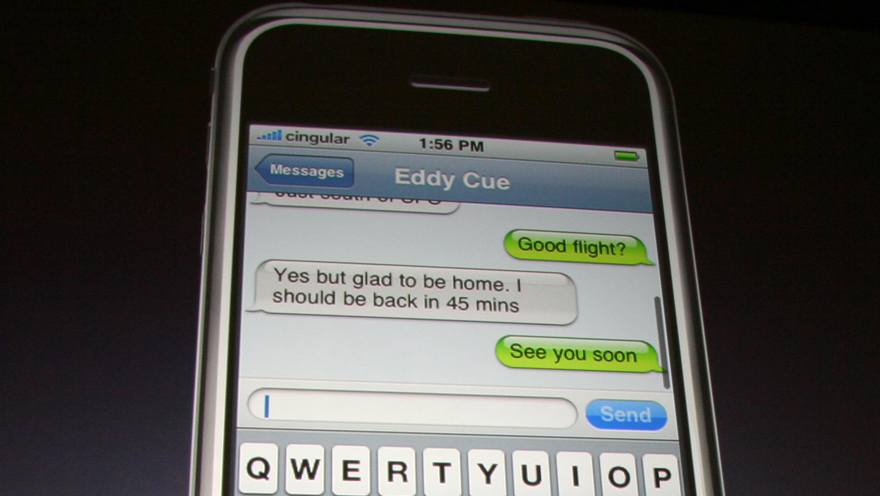 Ikke føl deg for trygg når du sender private meldinger med iPhone...