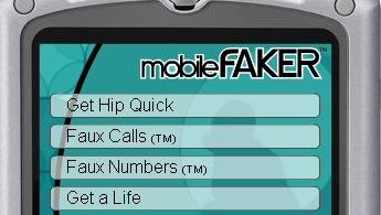 ENSOM? Da kan Mobilefaker hjelpe deg med fiktive venner og kjærester...
