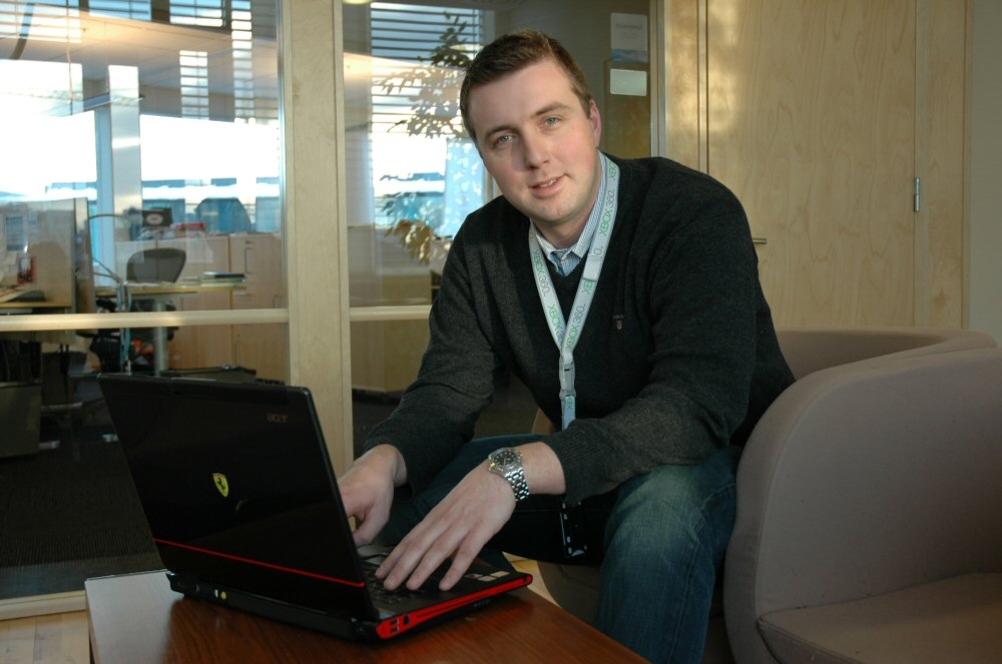 UNDERHOLDNINGSSENTRAL: Windows Vista bringer sammen Media Center og PC på en sømløs måte, mener Microsofts Espen Pettersen.