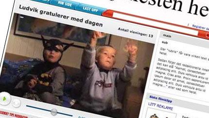 <b>Nettvideo:</b> Slik skal VGs nye tjeneste se ut (ill: www.vg.no)