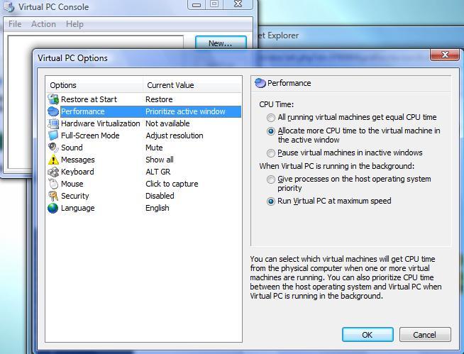 Gratis: Virtual PC 2007