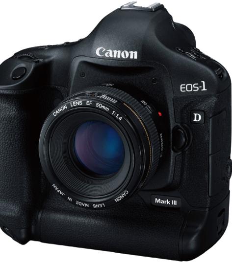 <b>NY UTGAVE:</b> Canons EOS-1D har kommet i MKIII-versjon.