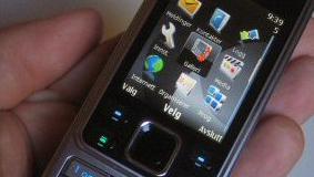 Nokia 6300 føyer seg pent inn i rekken av slanke telefoner.