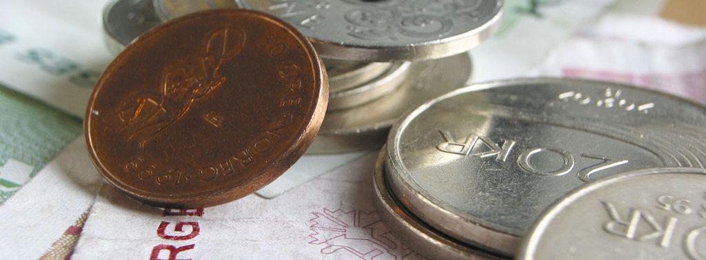Penger-kroner-mynter-sedler