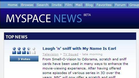 LANSERING:  MySpace lanserer Digg-konkurrent.