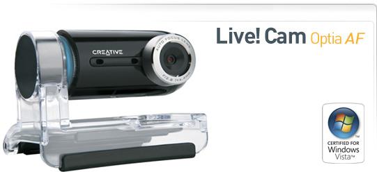 Creative lanserer verdens første webcam med autofokus.