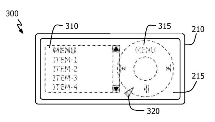 MINI:  Slik vil en fremtidig iPhone nano kanskje se ut, med den trykkfølsomme skjermen på baksiden.