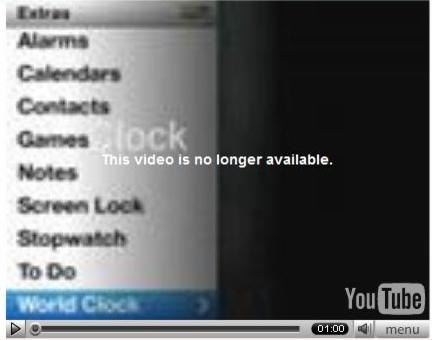Er dette grensensitet på en ny iPod? Bare Apple vet det...