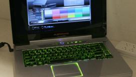 Denne bærbare PCen vil garantert vekke oppsikt på flyet.