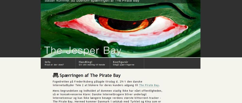 SLÅR TILBAKE:  The Pirate bay lar seg ikke stoppe av dommen mot danske Tele2, og lærer danske brukere å omgå sperren.