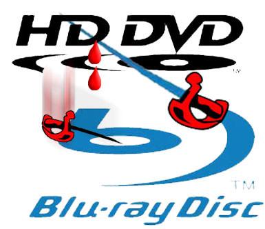 AVGJORT:  Det ser nå ut til at Blu-ray har trukket det lengste strået i formatkrigen. Det er Toshiba-aksjonærene glade for.