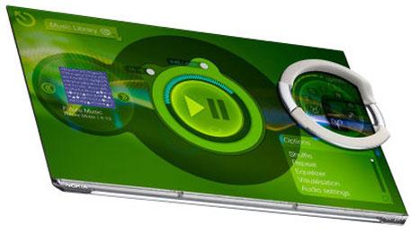FLEKSIBEL: Nokias fremtidsmobil er bøyelig, vanntett og selvrensende.