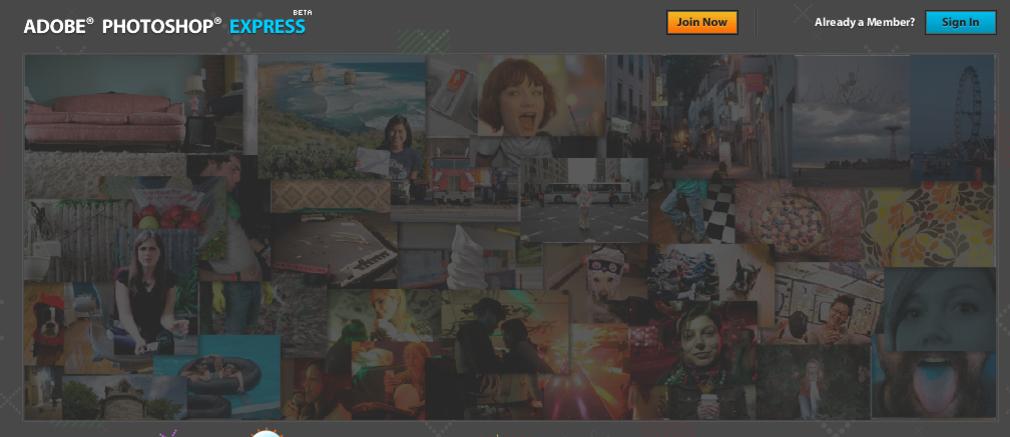 med Adobes nye gratisjeneste Photoshop Express har du null kontroll med bildene dine.