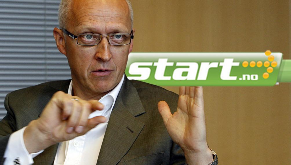 VIDERESENDER:  Den norske bredbåndsleverandøren Start.no videresender Tøndel-brev til sine kunder.