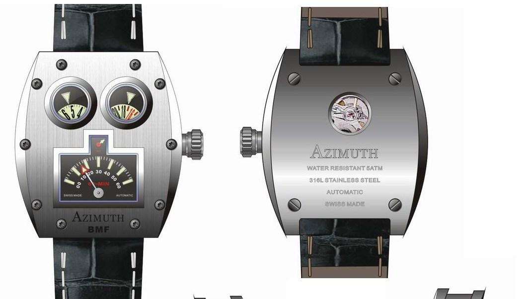 Denne nye modellen fra Azimuth vil kle den nyrike nerden godt.