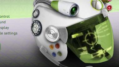 Denne hjelmen for Xbox 360 blir det nok litt vrient å oppdrive i butikken...