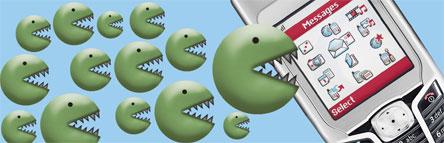 ANGRIPER:  Det er ventet stadig flere virus til mobiltelefoner i framtiden, advarer sikkerhetsselskapene.