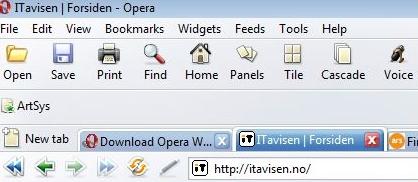 Opera i aller siste prøveversjon er en kajpp opplevelse.