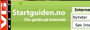 Nettby-brukerne kunne onsdag se merkelige Muhammed-slagord på Startguiden.no.