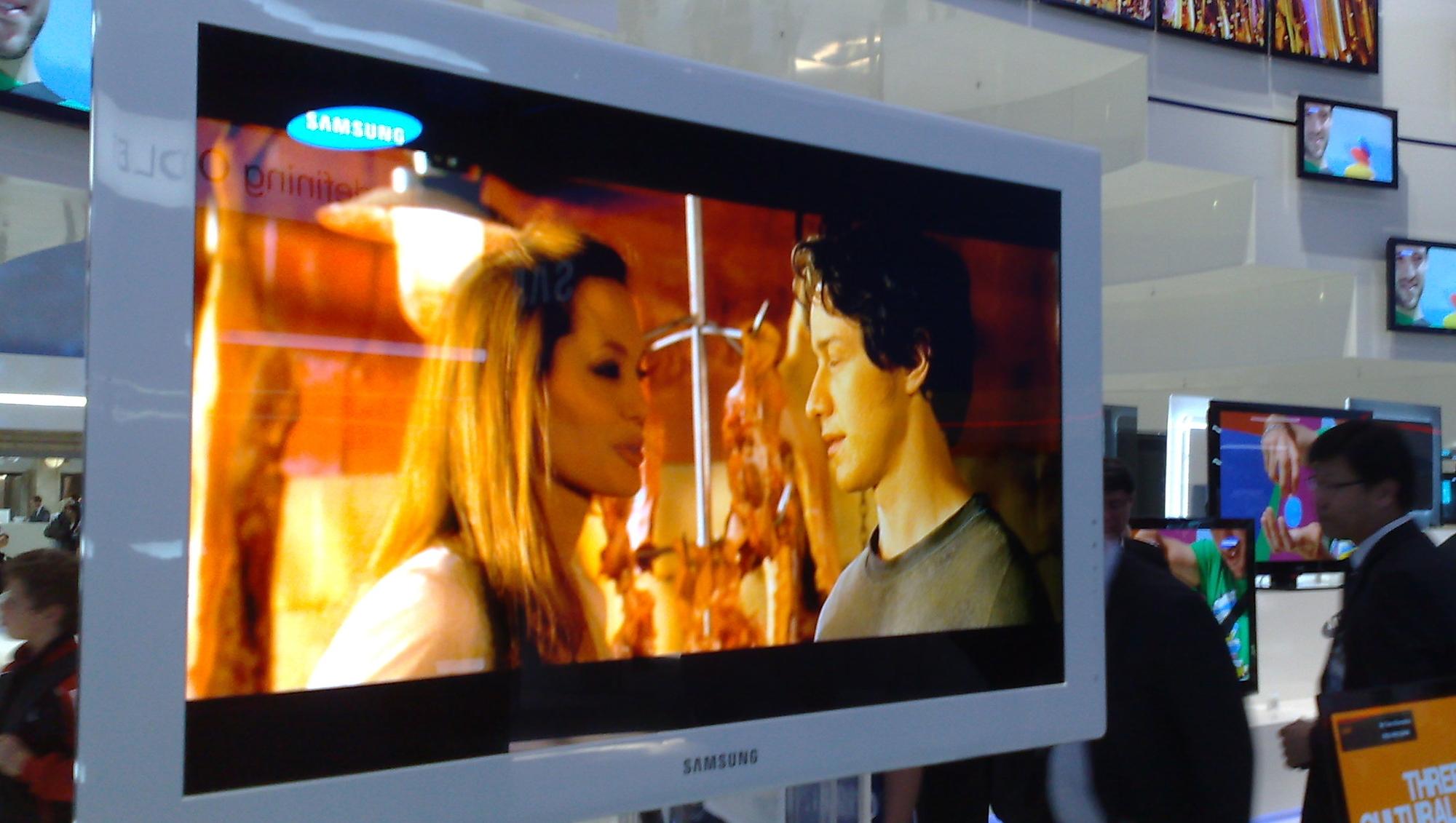 Samsungs 31 tommers OLED er klar for markedet i 2010.
