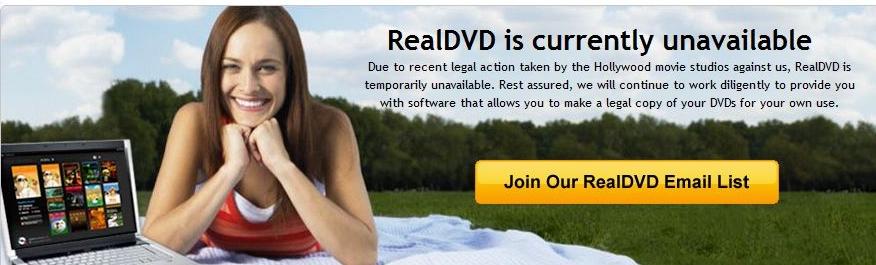 RealDVD var neppe førstevalget til de som ønsker å kopiere filmene sine. Nå er programmet stoppet.