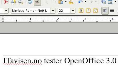 OpenOffice 3.0 i Opera 9.60.