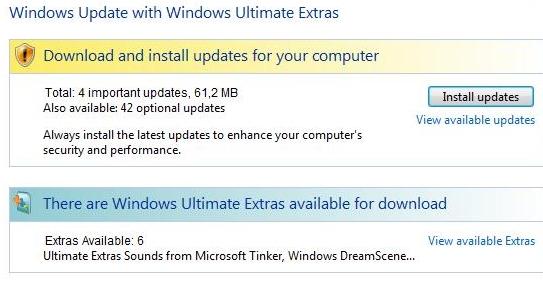 Microsoft vil at flere av driverne skal skaffes via nettet. På den måten sparer man diskplass.