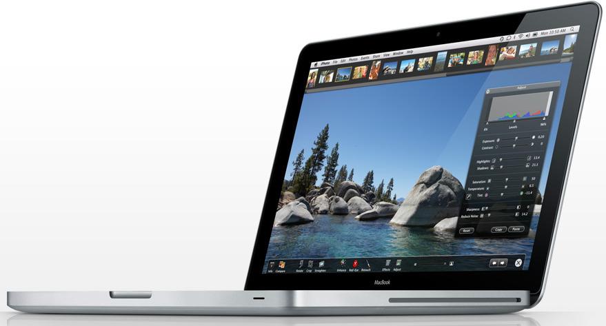 De nye MacBookene blir merkbart tregere om man kjører med strøm fra veggen og uten batteriet.