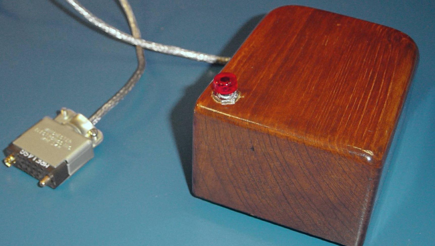 Slik så en PC-mus ut i gamledager.