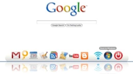 Ikke vanskelig å få øye på Google-logoen i Cloud.