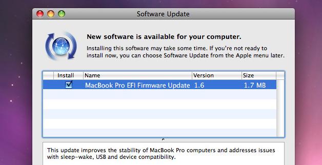 Akkurat hva oppdateringen gjør er ikke lett å si.