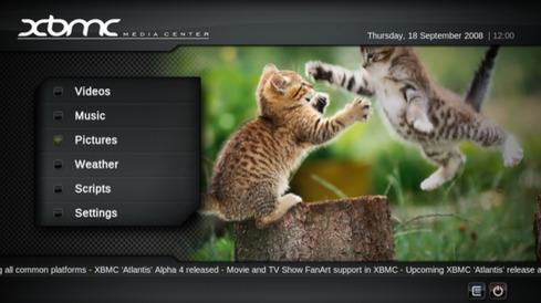 XBMC er tilgjengelig på mange plattformer og har også blitt populært på Mac.