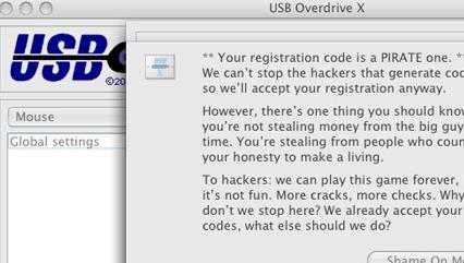 Klar beskjed til både pirater og hackerne.