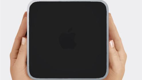 Slik kan den stasjonære minimaskinen fra Apple se ut.