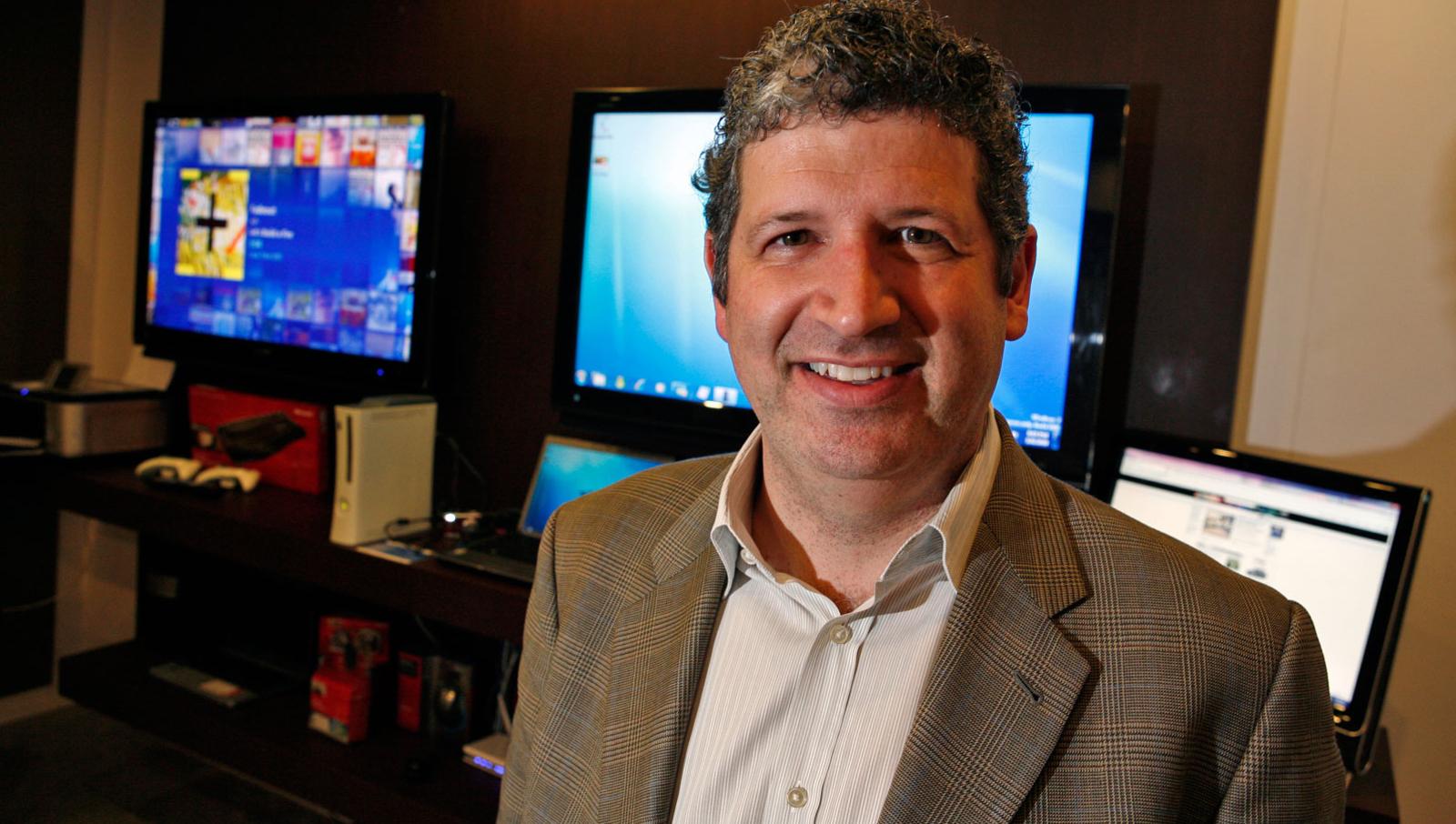 Darren Houston tror Windows kommer til å stå i sentrum for en ny medierevolusjon.