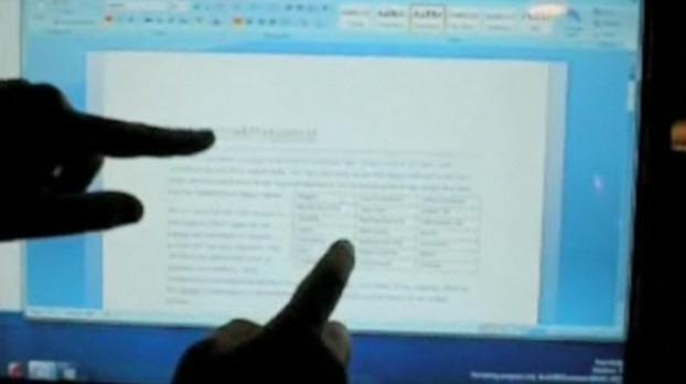 En rekke touchfunksjoner har allerede blitt vist frem i Windows 7.
