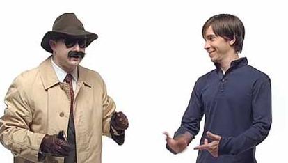 PC-guy til venstre og Mac-guy til høyre, om du har levd under en stein siden 2006.