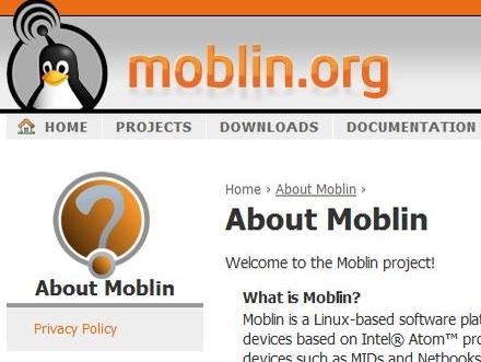 Moblin er et lettvekter OS fra Intel beregnet på MIDs, Netbooks og nettops som Asus Eee Top.